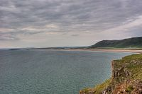 View from Worm's Head Rhosili