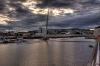 SA1 Sail Bridge Swansea - 3